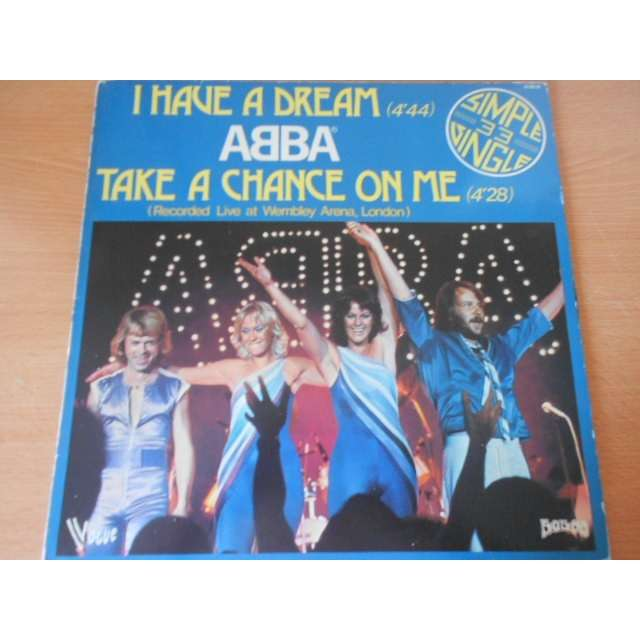 abba i have a dream / take a chance on me