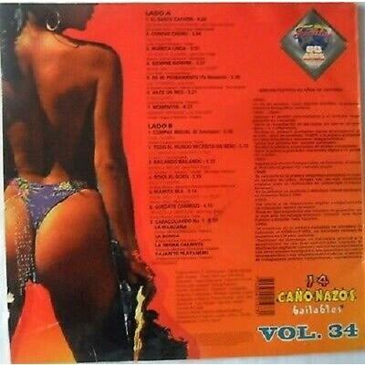 14 CAÑONAZOS BAILABLES PORRO-CUMBIA-VALLENATVOL 34 14 CAÑONAZOS BAILABLES PORRO-CUMBIA-VALLENATVOL 34 PRESS/FUENTES/1994