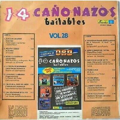 14 CAÑONAZOS BAILABLES VOL.28 -VARIOS-PRESS FUENTE 14 CAÑONAZOS BAILABLES VOL.28 -VARIOS-PRESS FUENTES