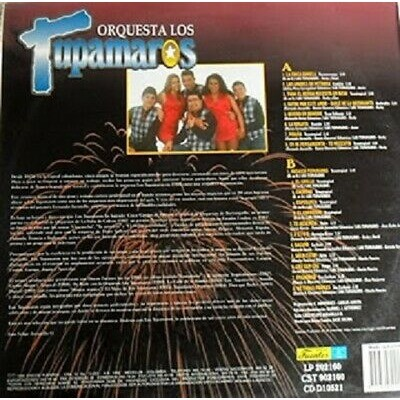 20 AÑOS ORQUESTA LOS TUPAMAROS-MERENGUES-TROPICAL- 20 AÑOS ORQUESTA LOS TUPAMAROS-MERENGUES-TROPICAL-DISCOS FUENTES
