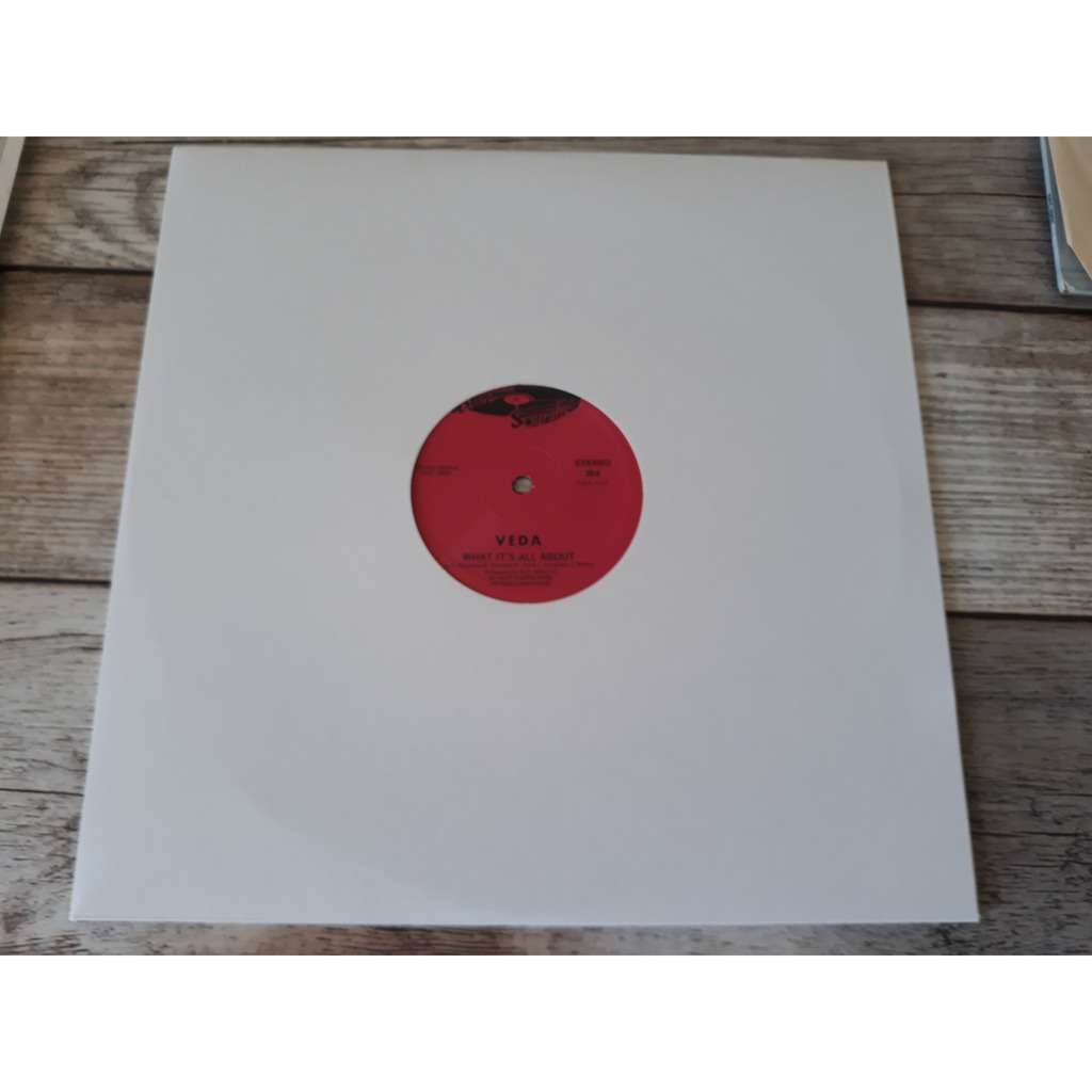 Veda - What It's All About / Ain't Nothing But A P Veda - What It's All About / Ain't Nothing But A Party (12, Unofficial)