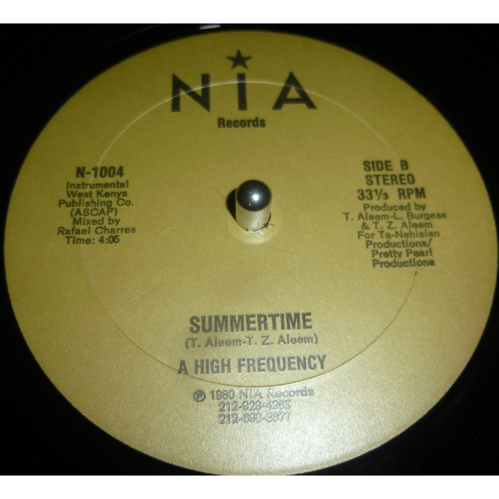 high frequency summertime