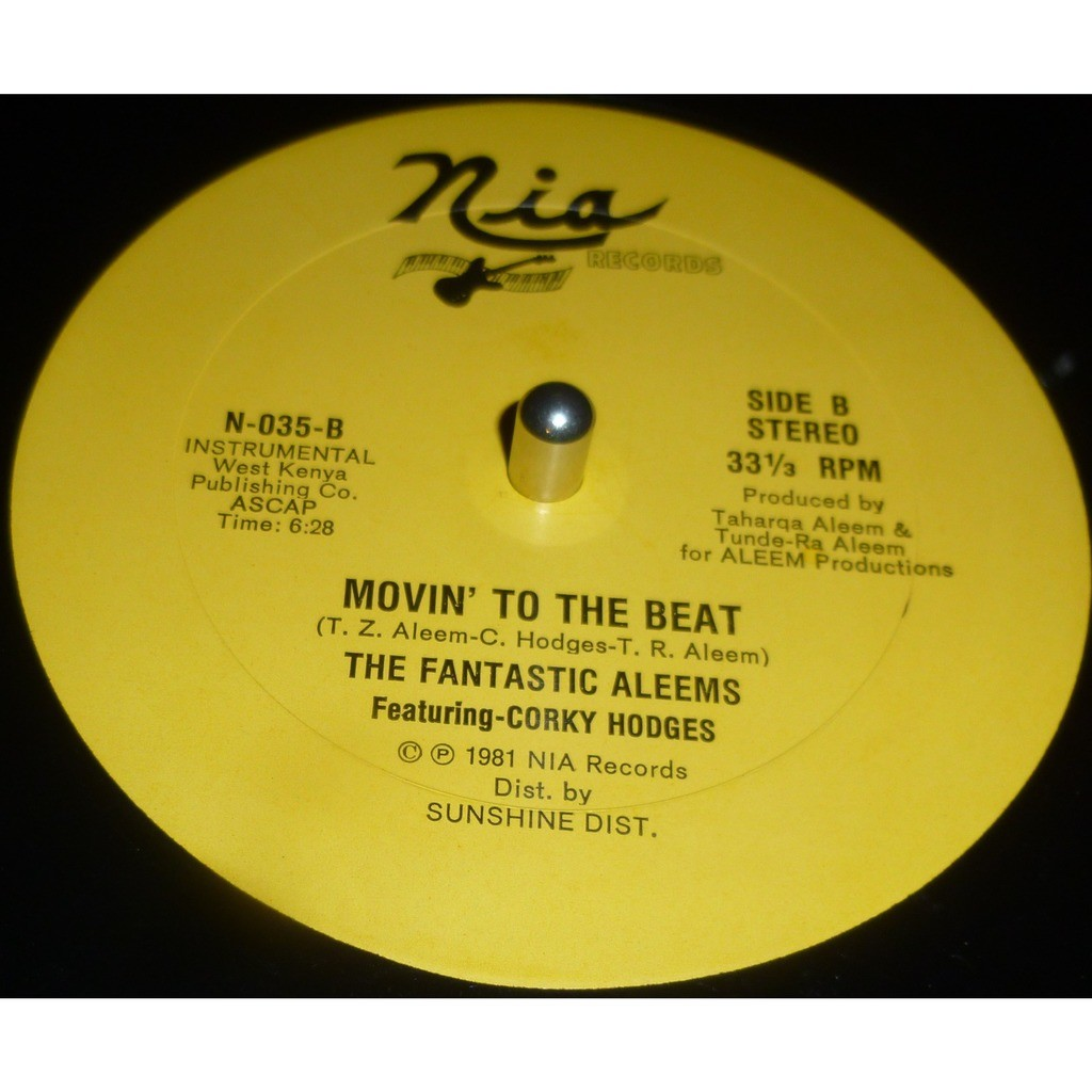 the fantastic aleems featuring corky hodges movin' to the beat