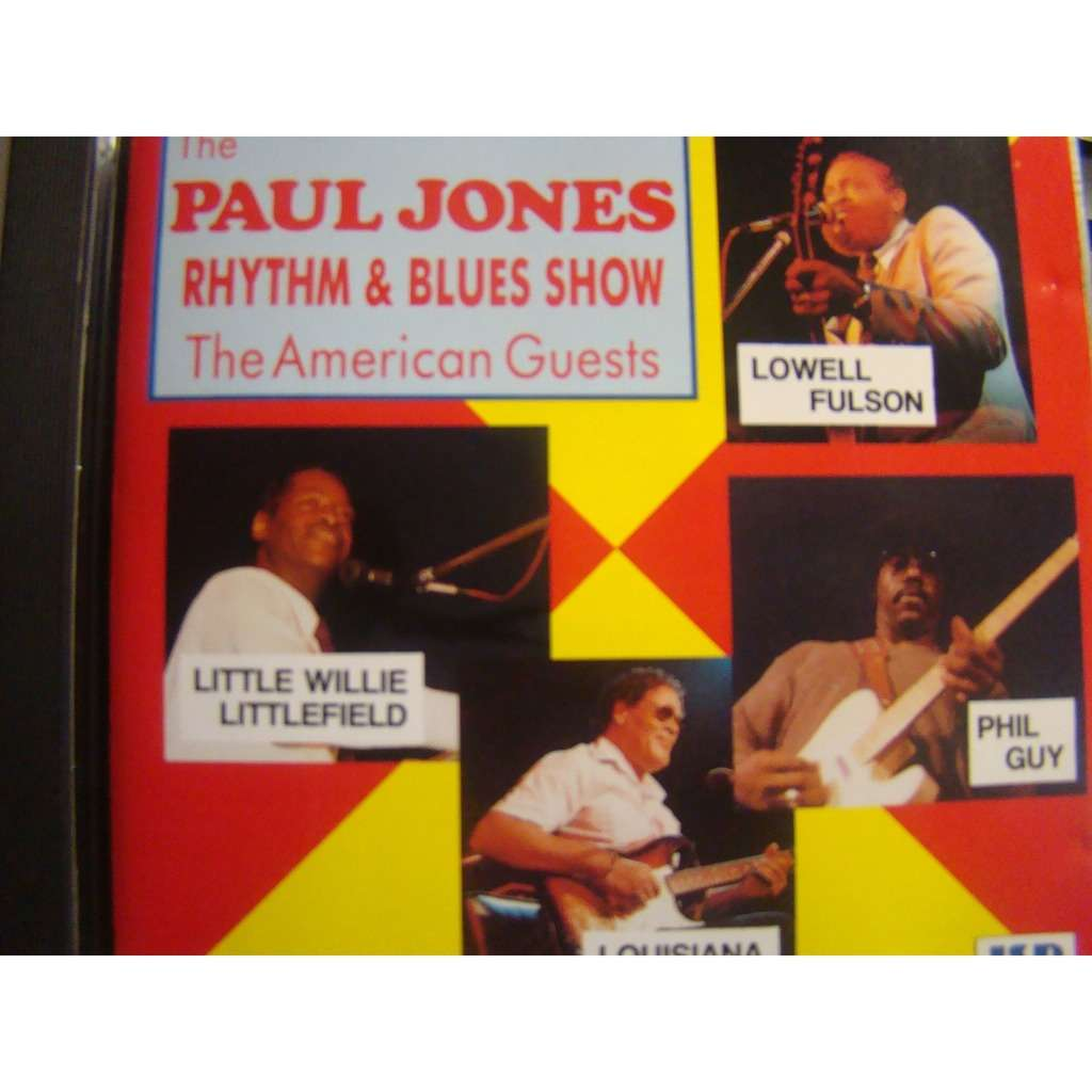 The Paul Jones Rhythm And Blues Show The American Guests