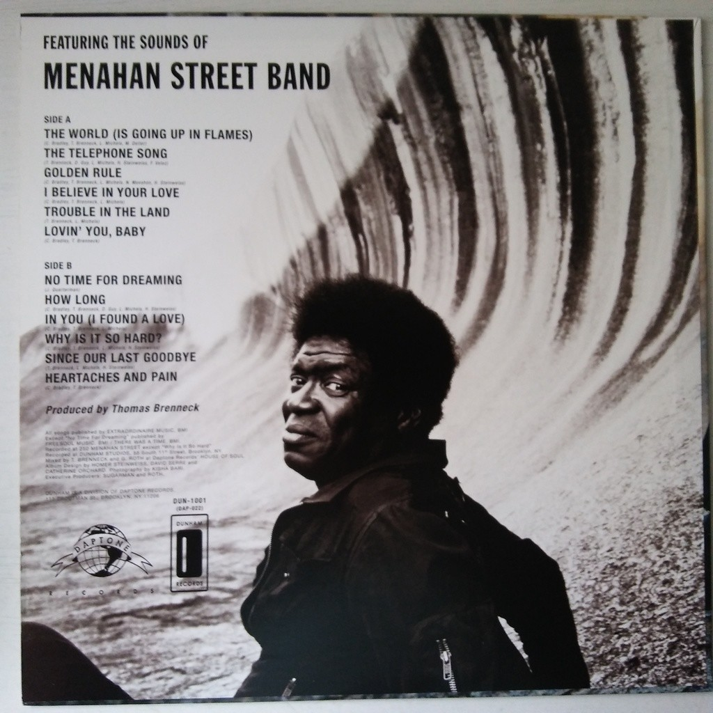 Charles Bradley Featuring The Sounds Of Menahan S No Time For Dreaming