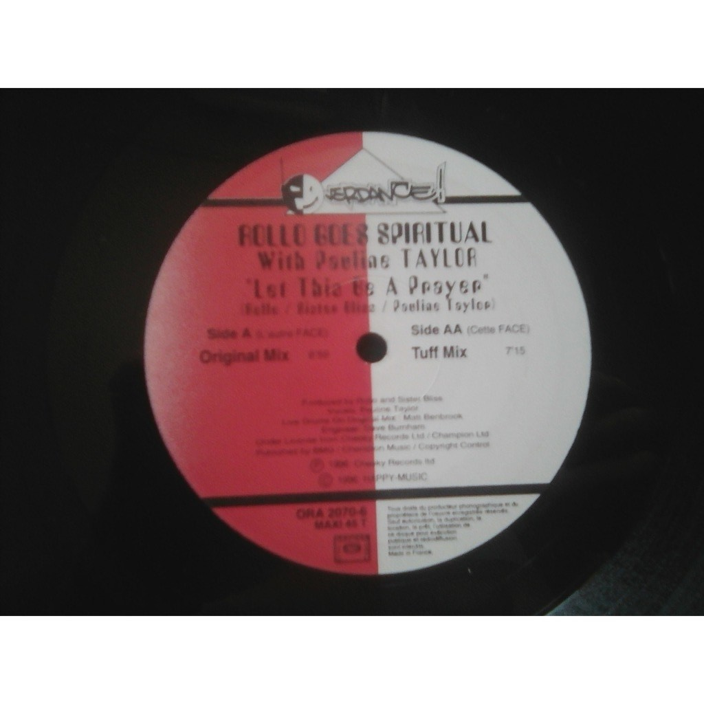 Rollo Goes Spiritual With Pauline Taylor - Let Th Let This Be A Prayer (Original Mix)