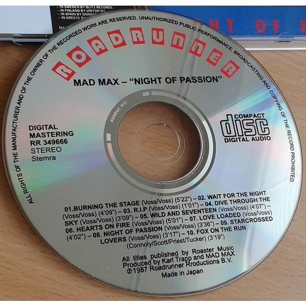 Mad Max Night Of Passion