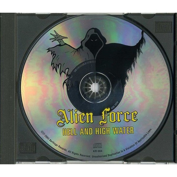 Alien Force Hell and High Water (incl. 5 bonuses)