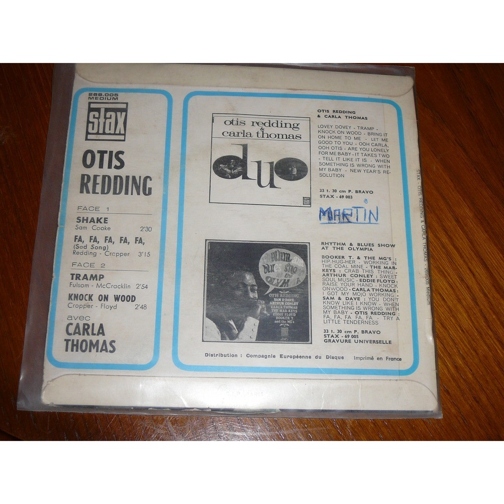 otis redding shake
