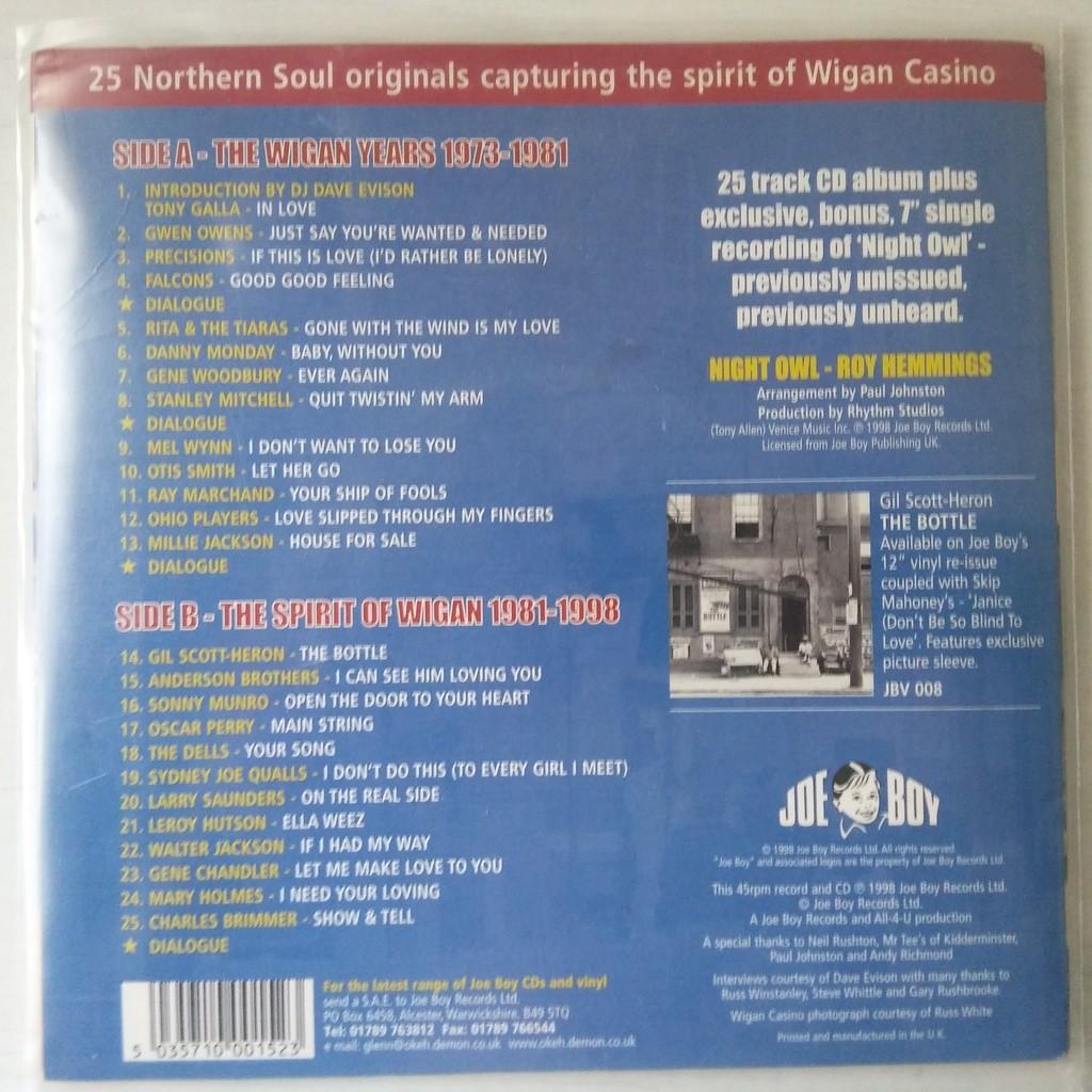 Various Night Owl (The Wigan Casino Years)