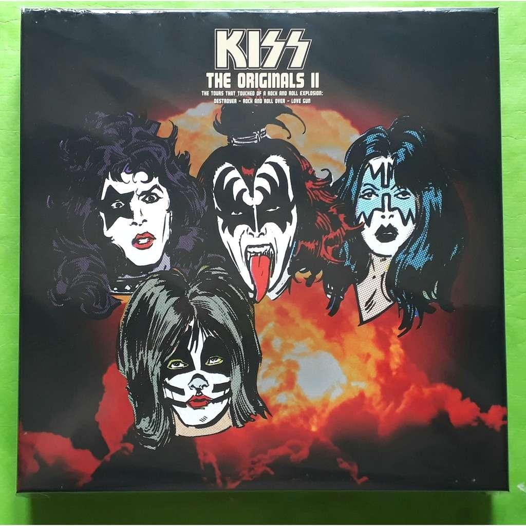 KISS THE ORIGINALS 2-(Limited édition)(Box)(3LP)(Pic-disc)+(Book/5 posters/Photos)(2019)(US).