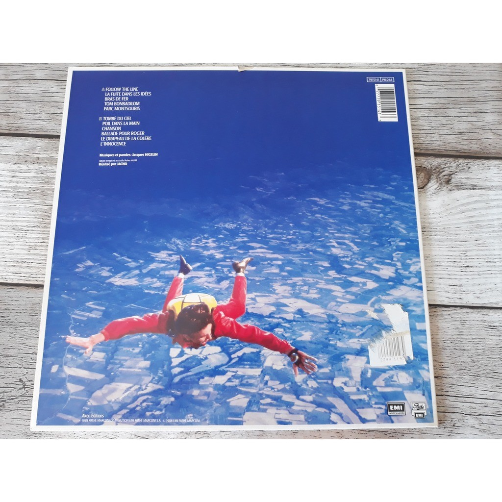 Jacques Higelin - Tombé Du Ciel (LP, Album) Jacques Higelin - Tombé Du Ciel (LP, Album)