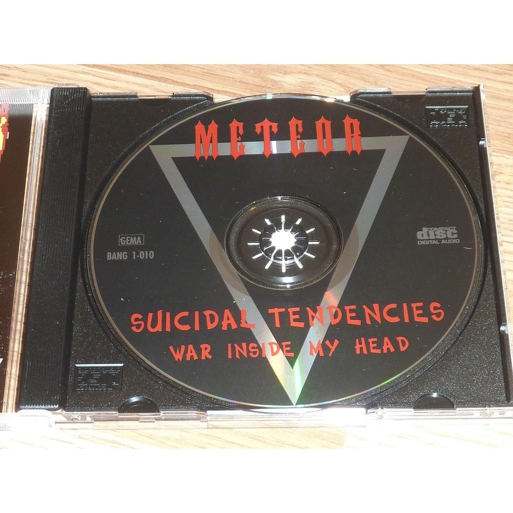SUICIDAL TENDENCIES WAR INSIDE MY HEAD CD