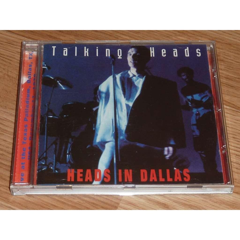 TALKING HEADS HEADS IN DALLAS CD
