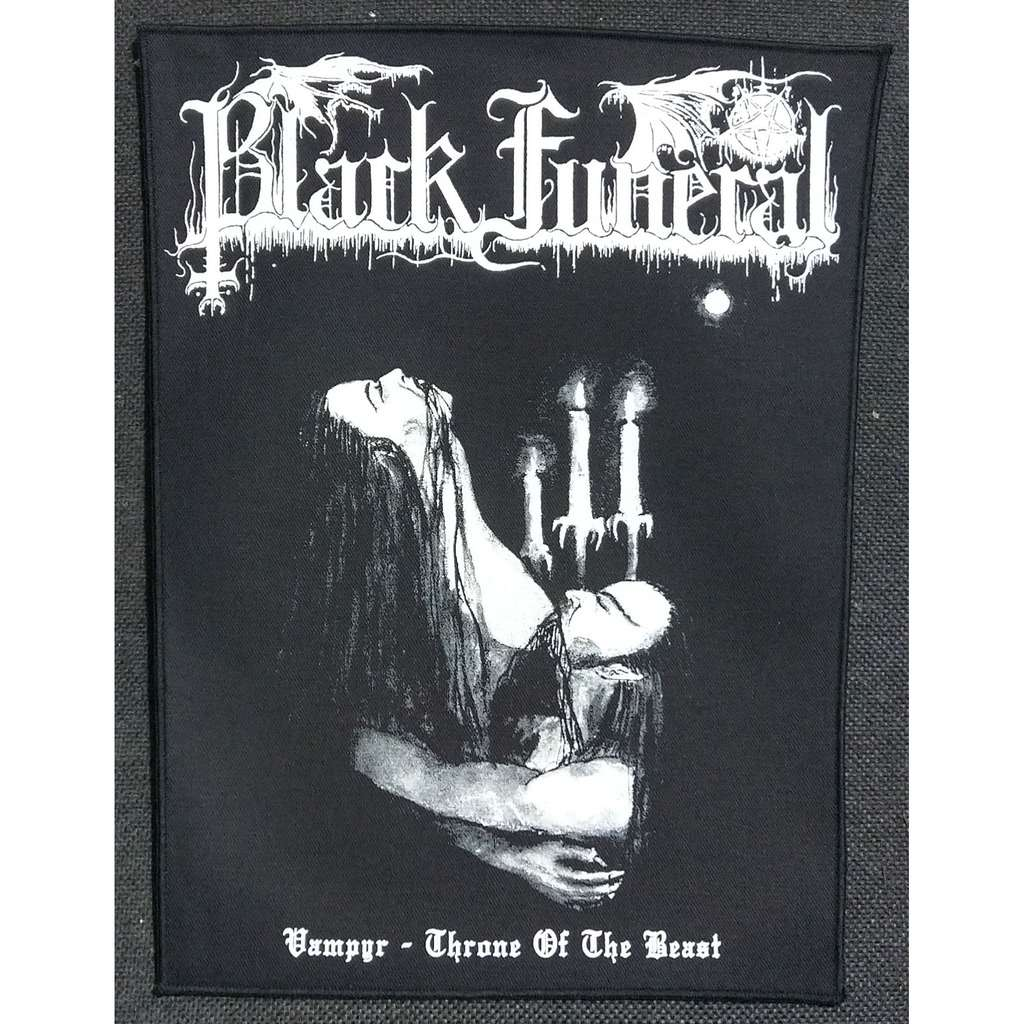 BLACK FUNERAL Vampyr - Throne Of The Beast (Backpatch)