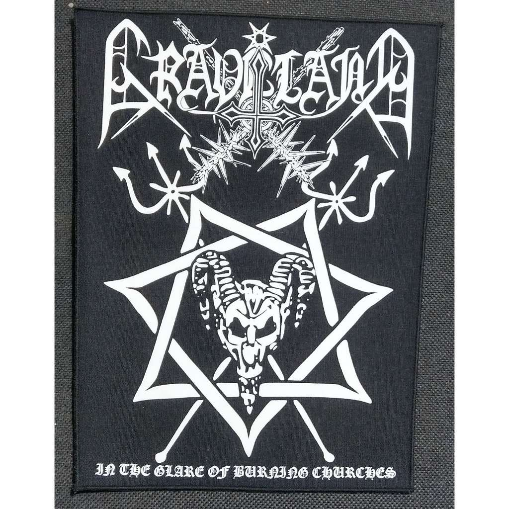 GRAVELAND In The Glare Of Burning Churches (Backpatch)