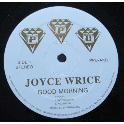 joyce wrice good morning