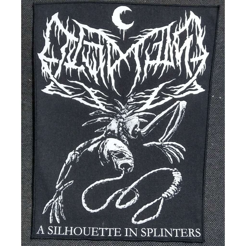 LEVIATHAN A Silhouette In Splinters (Backpatch)