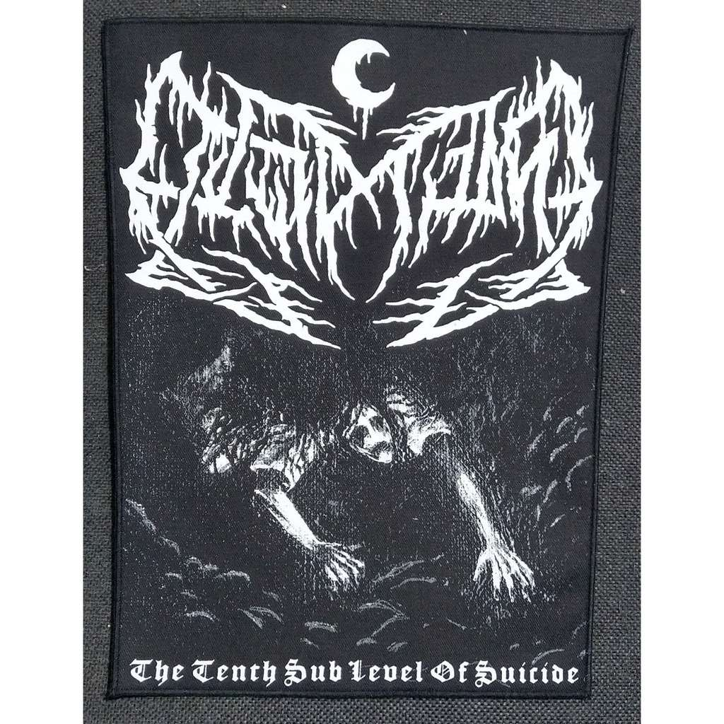 LEVIATHAN The Tenth Sub Level Of Suicide (Backpatch)