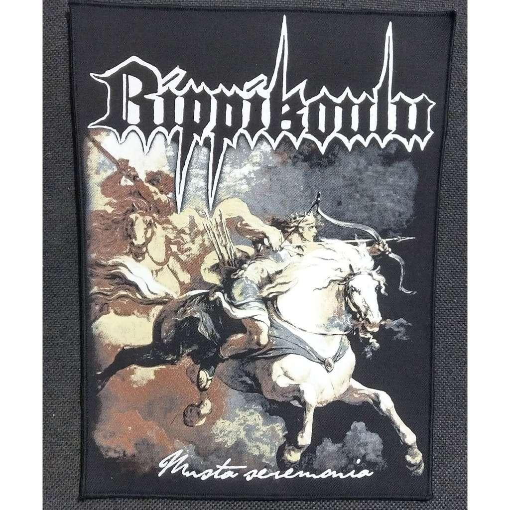RIPPIKOULU Musta Seremonia (Backpatch)