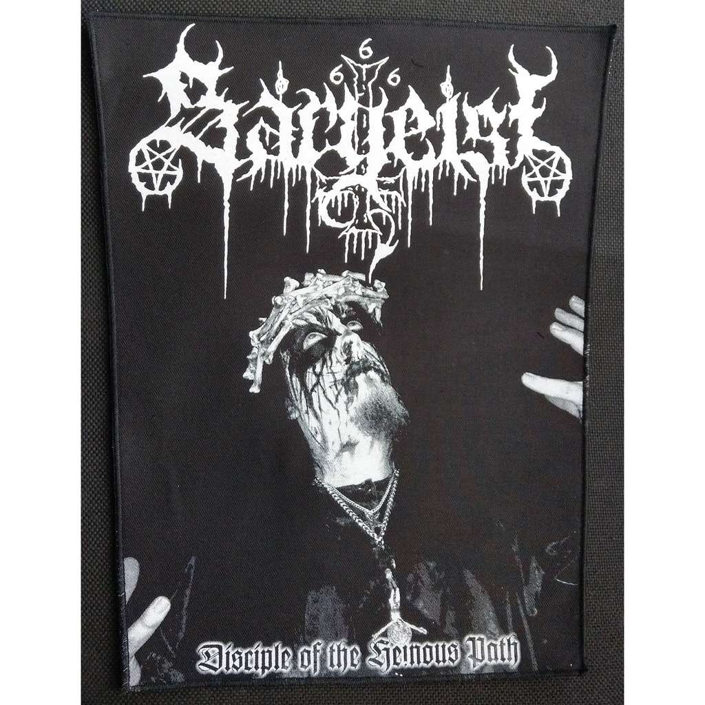SARGEIST Disciple of the Heinous Path (Backpatch)