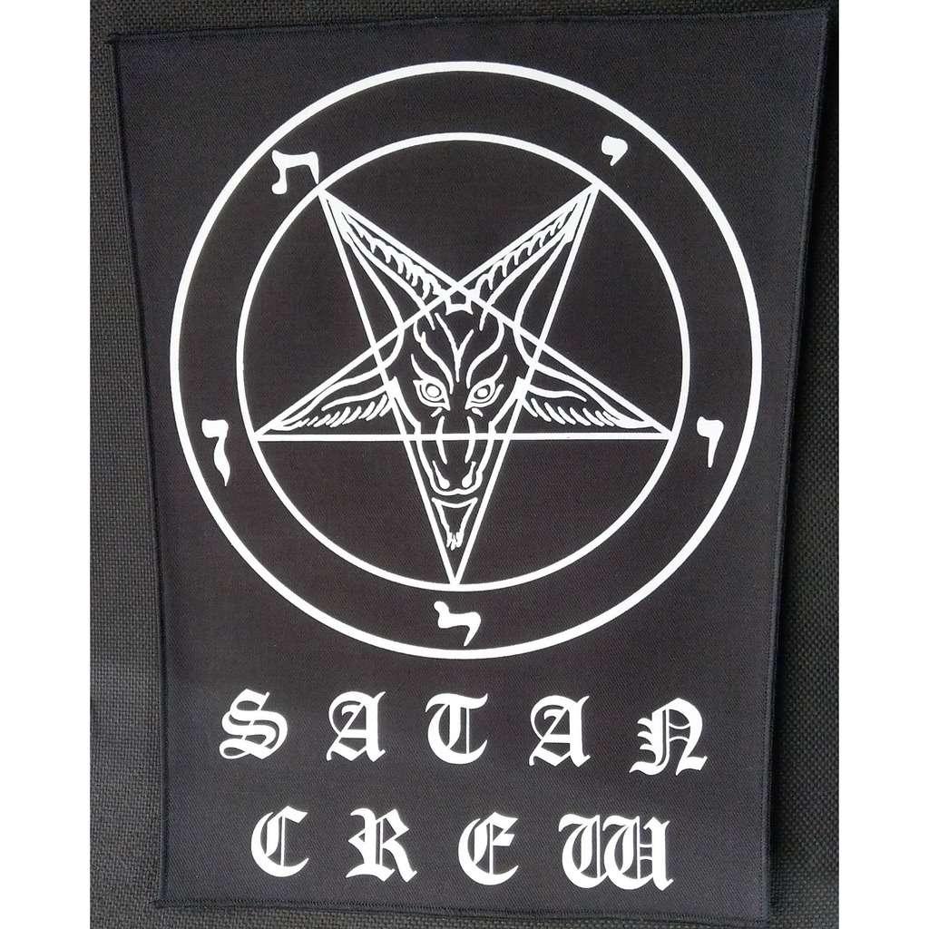 SATAN CREW (Backpatch) SATAN CREW (Backpatch)