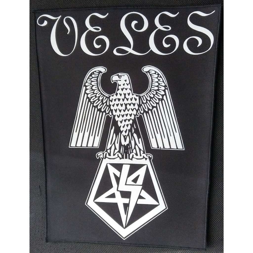 VELES Black Hateful Metal (Backpatch)