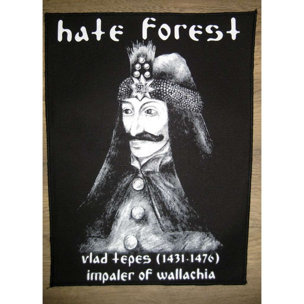 HATE FOREST Vlad Tepes (Backpatch)