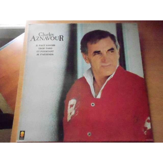 charles aznavour il faut savoir