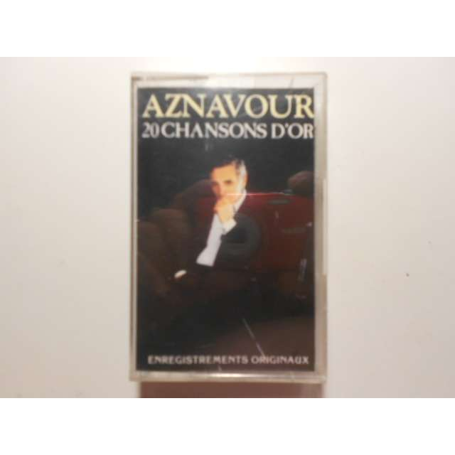 charles aznavour 20 chansons d'or