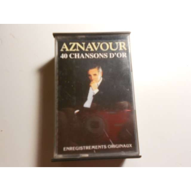 charles aznavour 40 chansons d'or