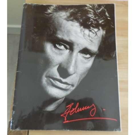 johnny hallyday Programme Concert 1987/1988