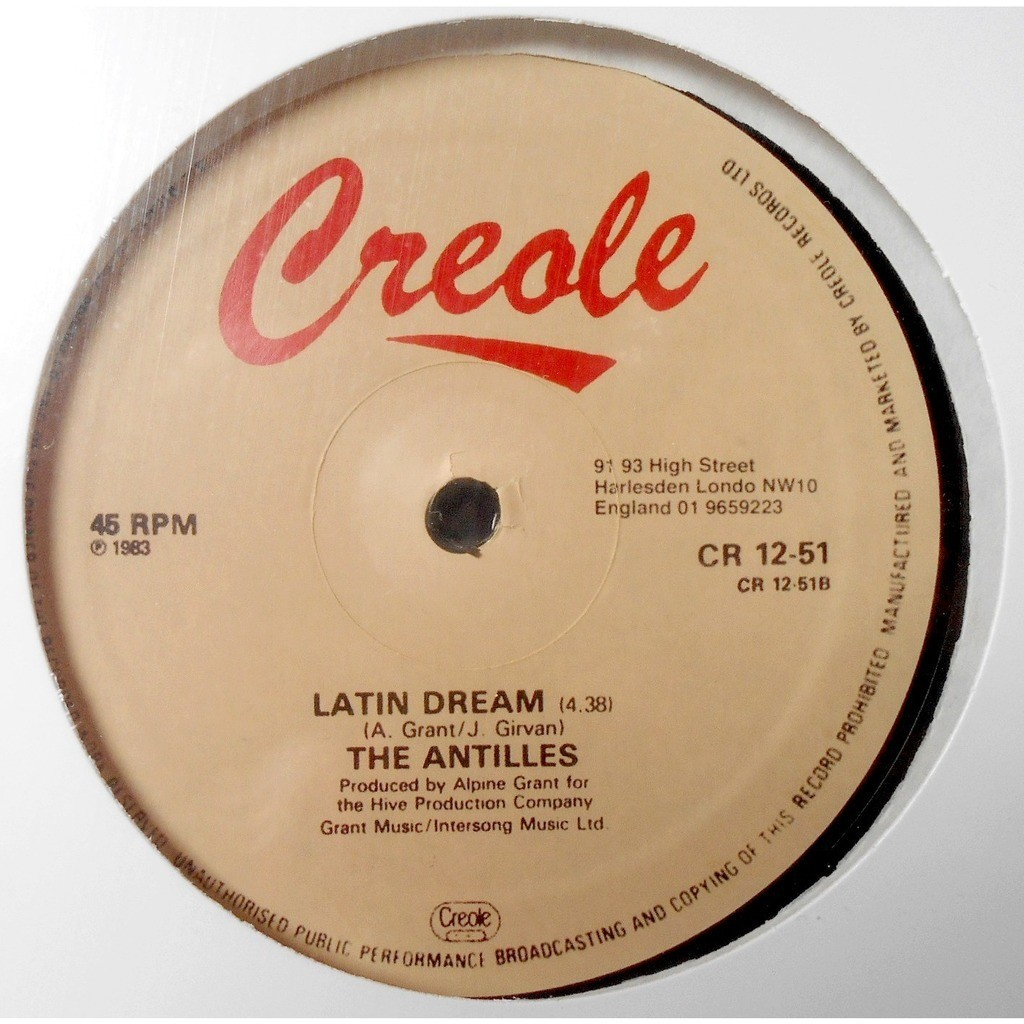 the antilles i've got to have you / latin dream