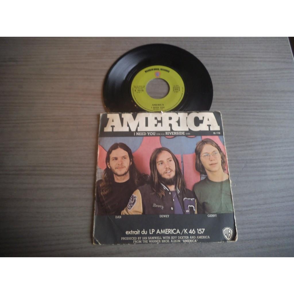 America I Need You / Riverside