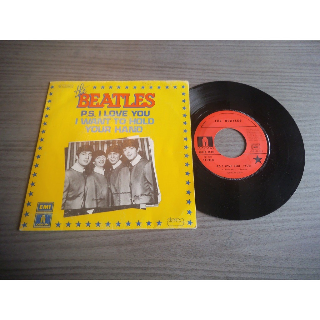 THE BEATLES PS I LOVE YOU / I WANT TO HOLD YOUR HAND