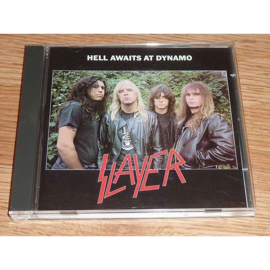 SLAYER HELL AWAITS AT DYNAMO CD