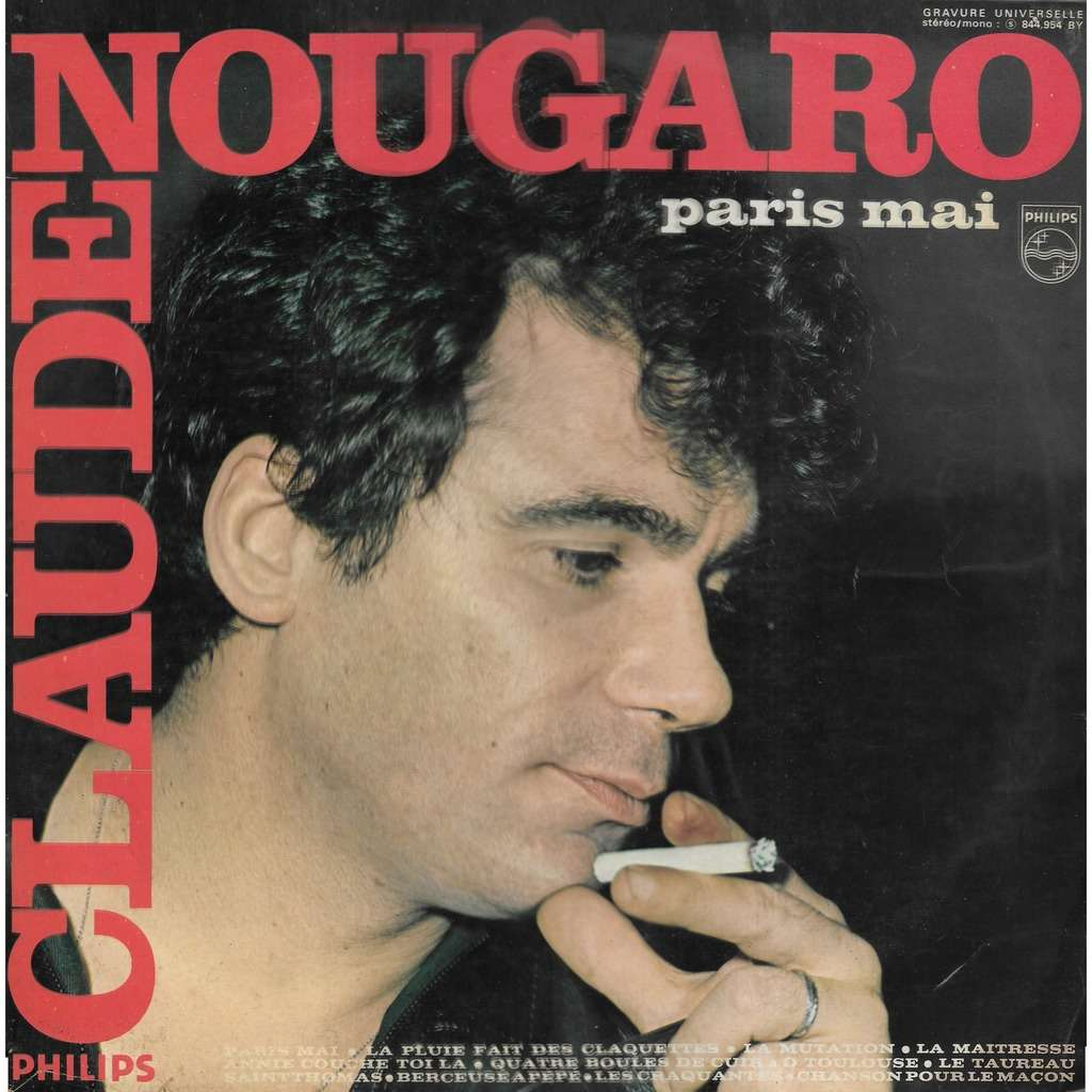 Claude NOUGARO Paris Mai