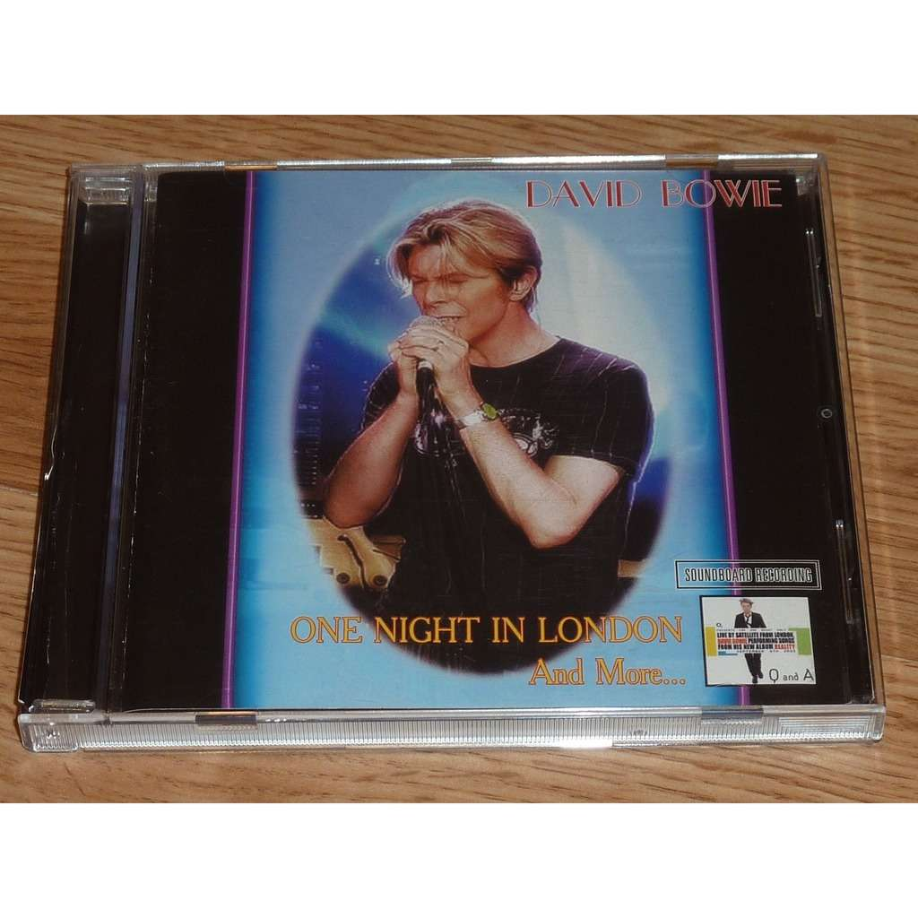 DAVID BOWIE ONE NIGHT IN LONDON AND MORE CD