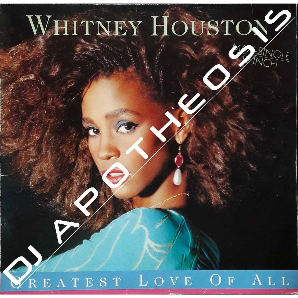 WHITNEY HOUSTON greatest love of all