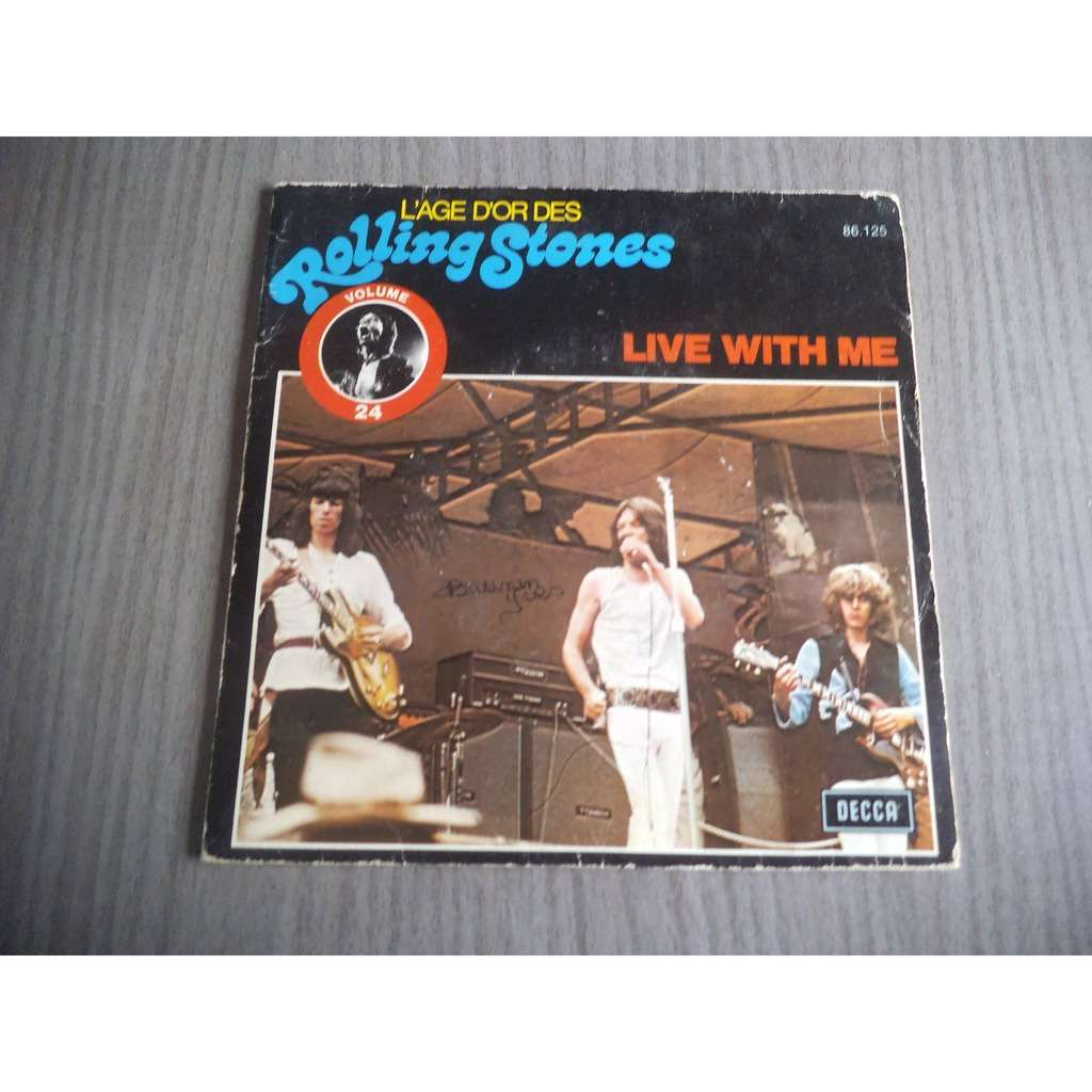 Rolling Stones Live With Me / Let It Bleed