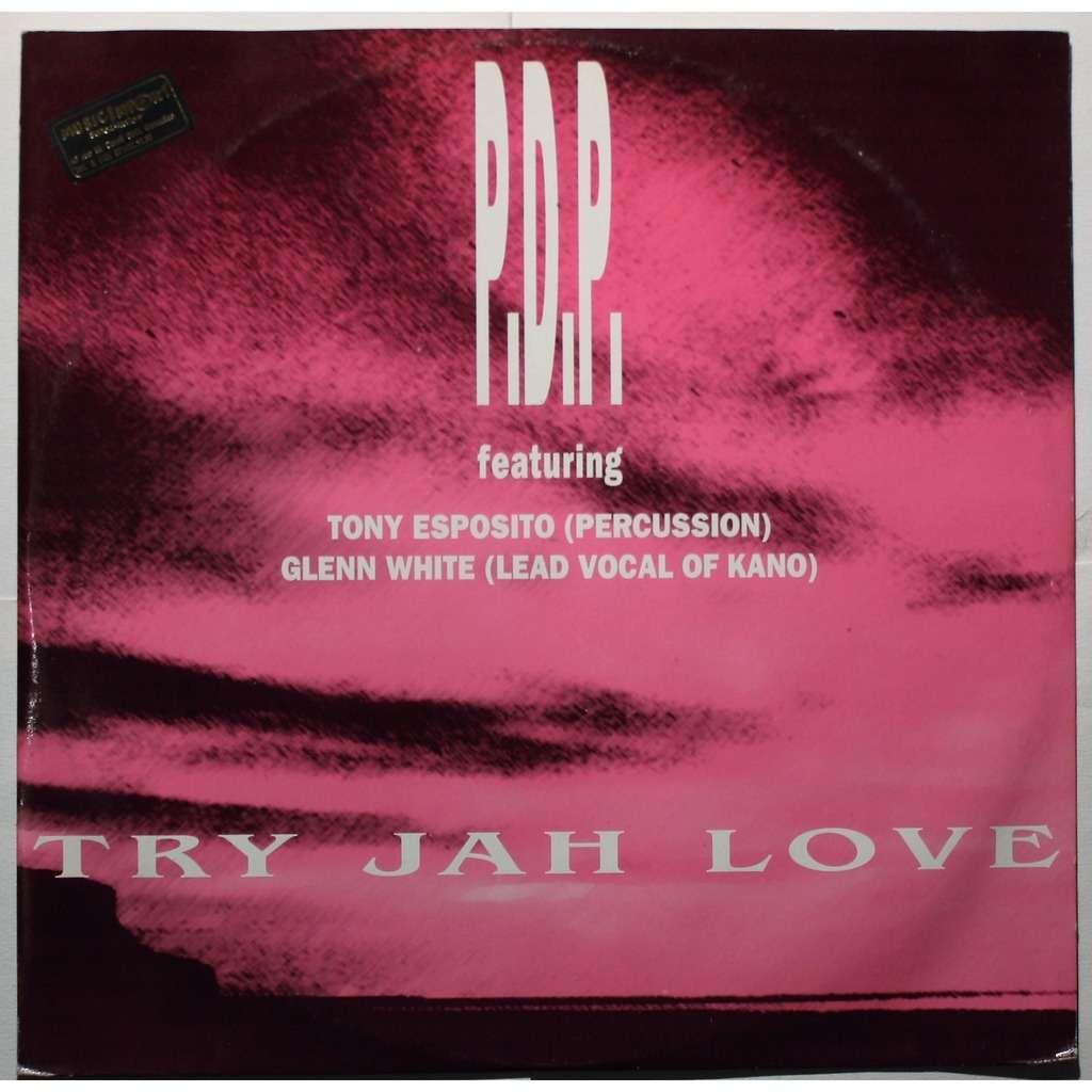 P.D.P. Featuring Tony Esposito & Glen White Try jah love