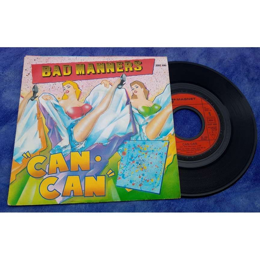 BAD MANNERS CAN CAN / ARMCHAIR DISCO