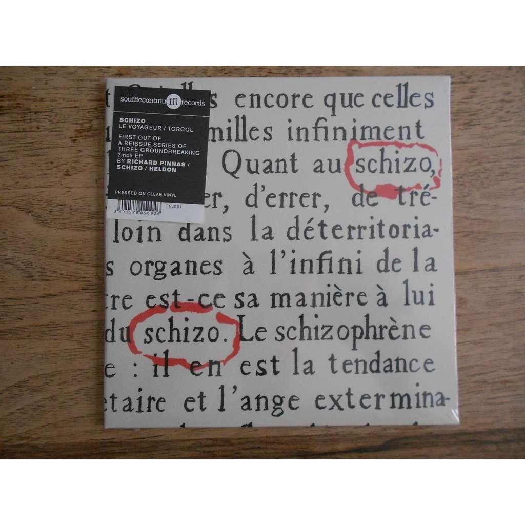 schizo le voyageur - torcol (clear vinyl)