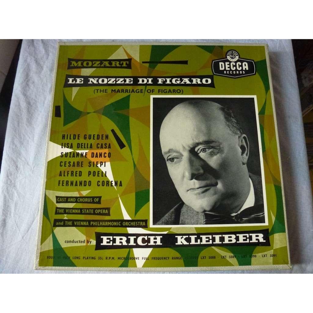 Erich Kleiber, Gueden, Danco, Della Casa, Siepi Mozart : The Marriage of Figaro - ( 4 lp set box )