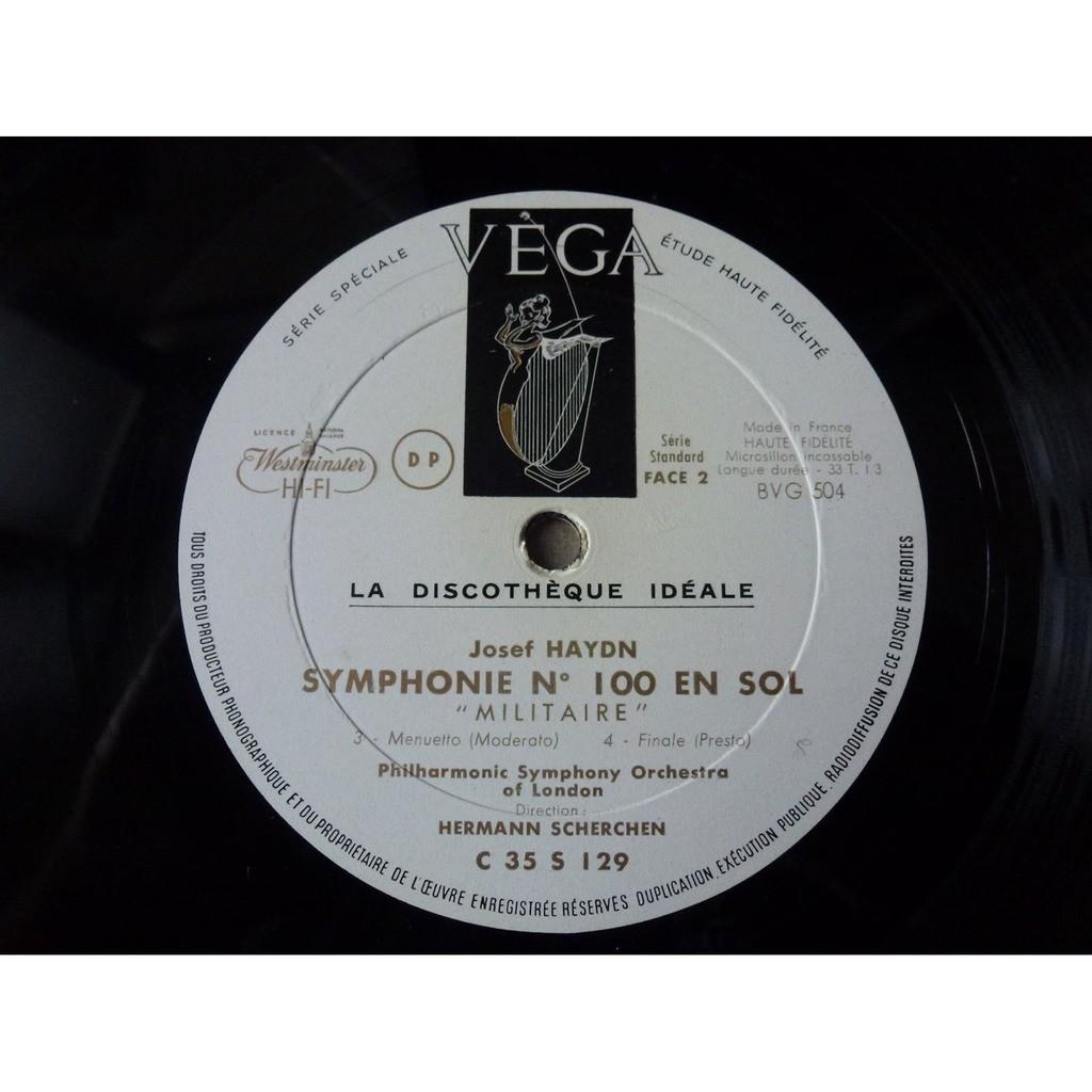 Hermann Scherchen - symphony orchestra of london Haydn : Symphonie n° 100 militaire