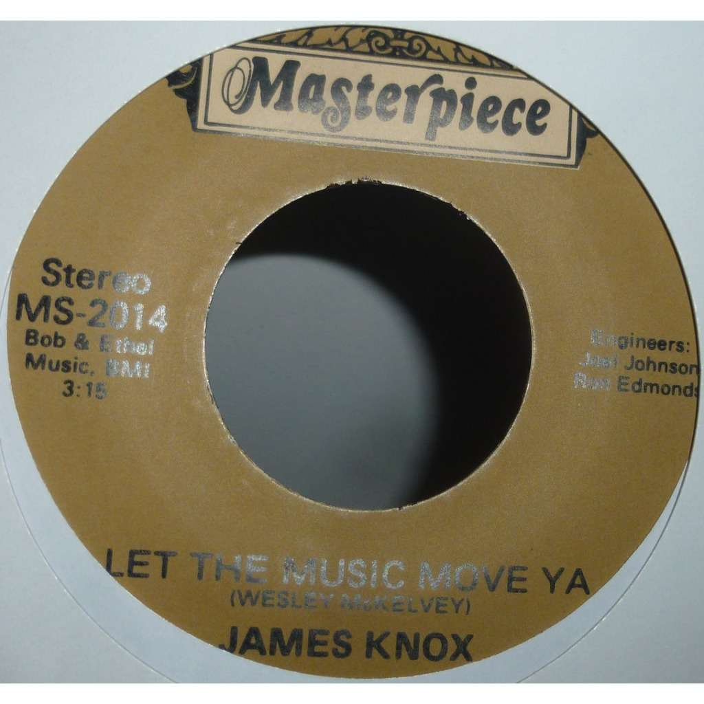 James Knox Running From You Love / Let The Music Move Ya