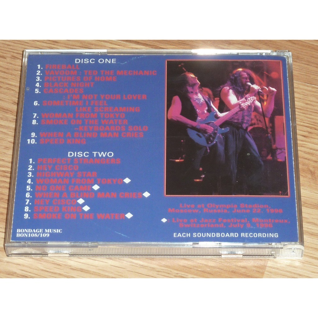DEEP PURPLE WITH PURPLE FROM RUSSIA 2CD