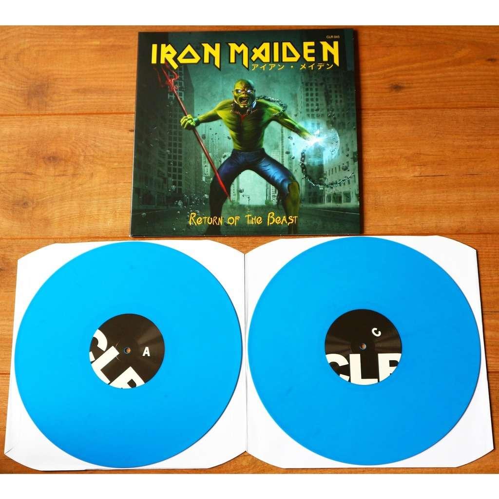 Iron Maiden Return Of The Beast (2xlp) / Ltd Edit Gatefold Sleeve -Jap / blue vinyl