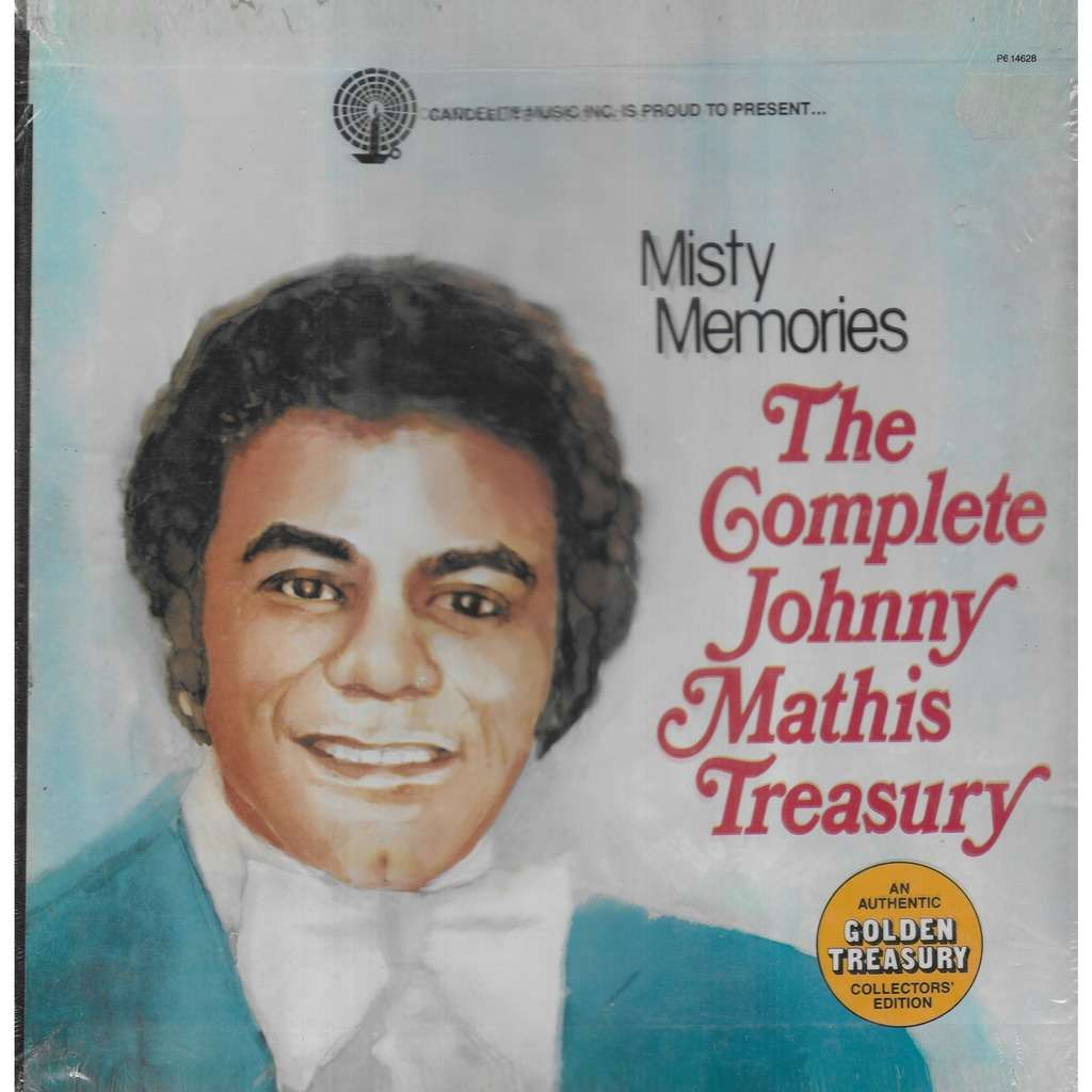 Johnny MATHIS Misty Memories The Complete Johnny Mathis Treasury