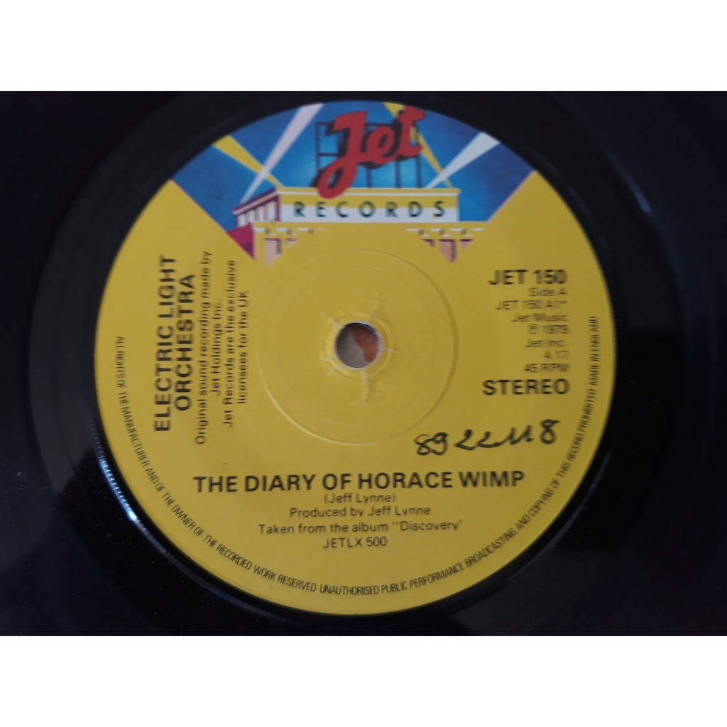 Electric Light Orchestra The Diary Of Horace Wimp-Down Home Town